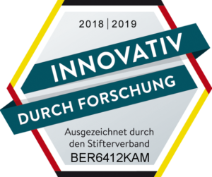 Innovativ durch Foschung Siegel Berger