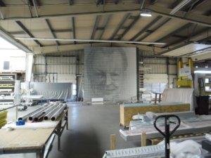 Berger – Willy Brandt in der Fertigung